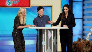 Beth Behrs & Whitney Cummings Play '5 Second Rule'