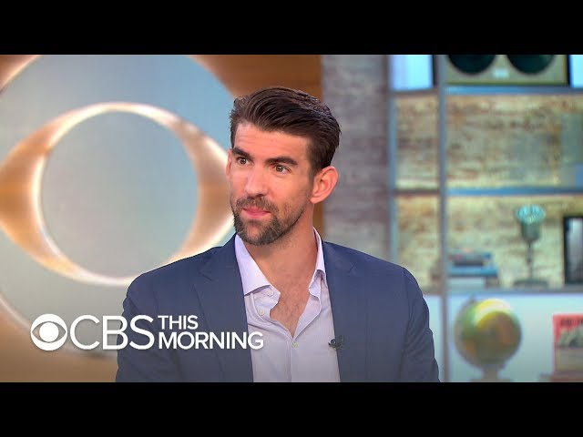 Michael Phelps on managing depression: