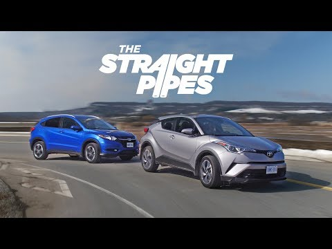 2018 Toyota C-HR vs Honda HR-V - Crossover Battle of the Millenium
