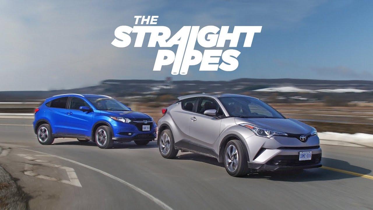 2018 Toyota C-HR vs Honda HR-V - Crossover Battle of the Millenium