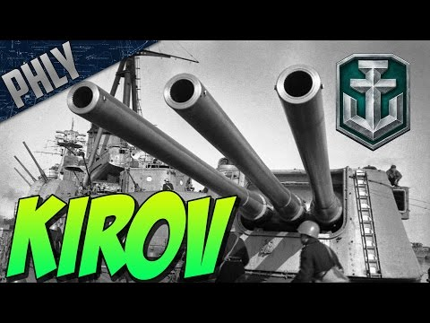World Of Warships - NEW RUSSIAN CRUISER - KIROV Gameplay