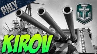 Video World Of Warships - NEW RUSSIAN CRUISER - KIROV Gameplay download MP3, 3GP, MP4, WEBM, AVI, FLV Juni 2018