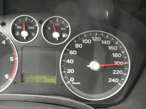 ford focus 2.0tdci 145-230km/h - youtube