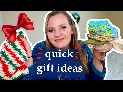 LAST MINUTE KNITTED GIFT IDEAS