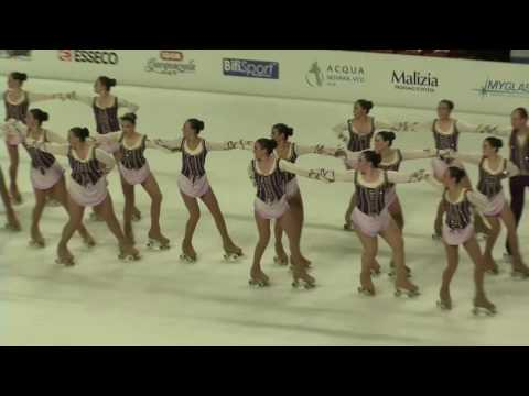 2016 World roller figure skating championship NOVARA Italy PRECISION GROUPS