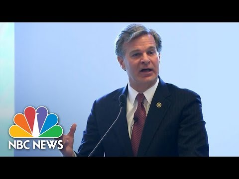 Director Christopher Wray Says FBI Was Unable To Access 7,775 Electronic Devices In 2017 | NBC News