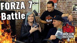 Maxi macht Team Hölle platt: Forza-7-Battle auf der Höllenmaschine 8 | 4K 60fps  | #Gaming-PC