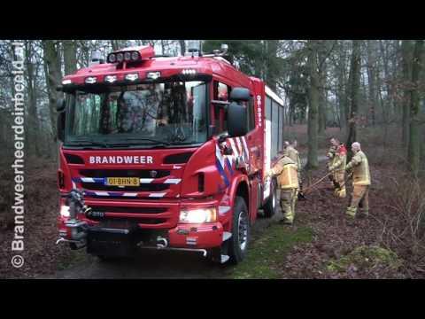 2016 12 31 Mariaboom in brand Kloosterweg Wapenveld