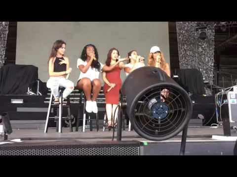 Fifth Harmony soundcheck west palm beach 7/27 tour