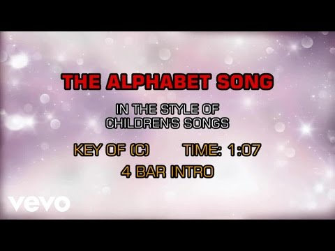 Children's Happy Songs - The  Alphabet Song (Karaoke)