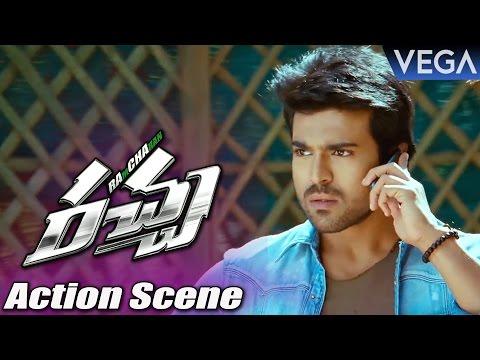 Racha Movie Action Scene || Ram Charan