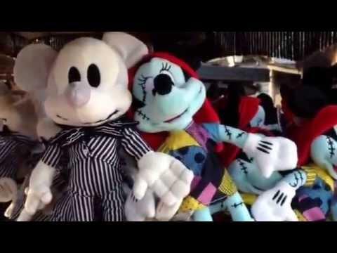 Minnie Mickey As Sally Jack Nightmare Before Christmas Plush