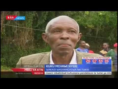 Wakaazi Nyeri washangazwa na kuku mchawi