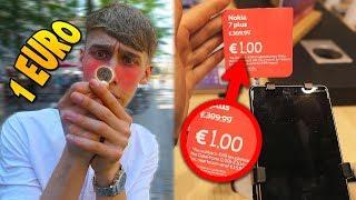 IK MOET 1 DAG LEVEN VAN 1 EURO! *Onmogelijke Challenge*