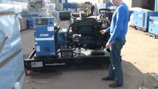 видео Дизельная электростанция SDMO J130K