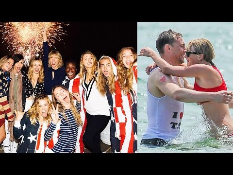 Inside Taylor Swift's EPIC 4th of July Party! | Hollywire