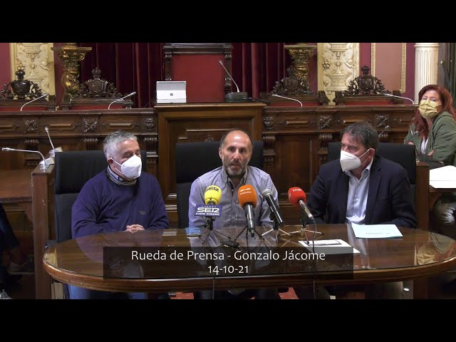 Rueda de Prensa - Gonzalo Jácome 14-10-21