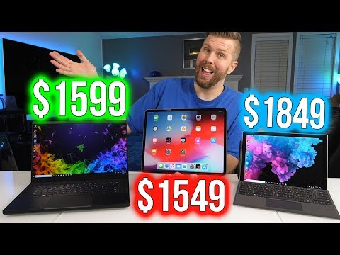 download Surface Pro 6 vs iPad Pro 2018 vs Razer Blade 15 - What's the Best Portable Computing Experience?