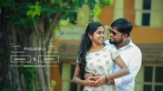A Joyful Kerala Hindu Wedding Anagha + Adarsh By Pixelworld Ponkunnam