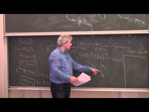 Lecture 5 | Cohomology: differential, etale and motivic cohomology theories | I. Panin | Лекториум