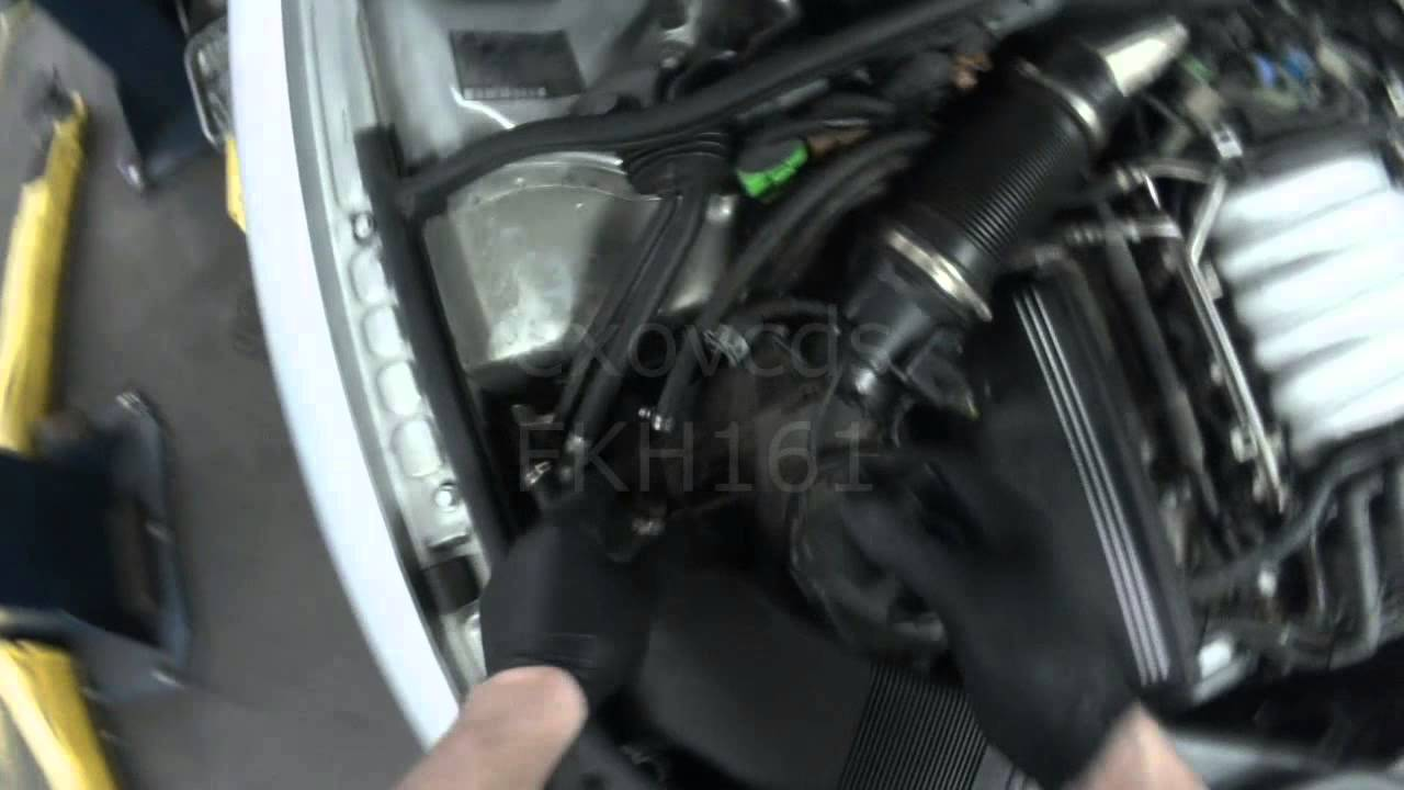 Vw B5 Passat V6 Purge Valve N80 Checking Amp Replacing Youtube