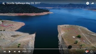 7 questions for dwr about wet area by spillway at oroville dam 52417