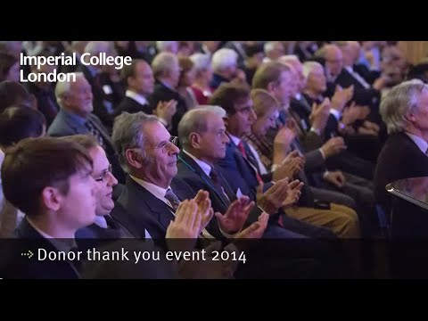 The impact of giving: speeches from the 2014 Donor Thank You Reception