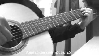Hát cho người nằm xuống guitar solo