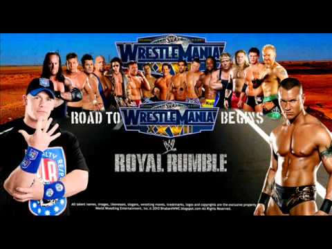 WWE Royal Rumble 2011 Theme: Living In A Dream-Finger Eleven
