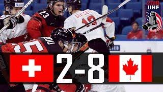 Canada vs Switzerland | 2018 WJC Highlights | Jan. 2, 2018