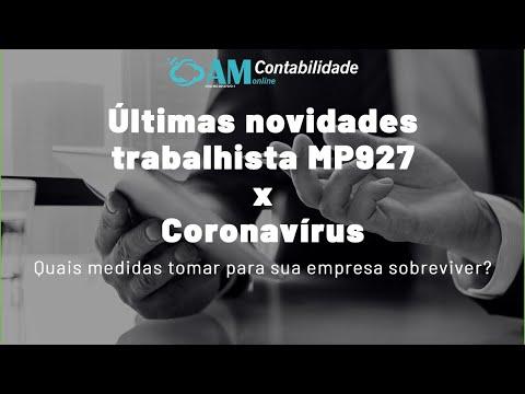 Últimas novidades trabalhista MP927 x Coronavírus from YouTube · Duration:  13 minutes 27 seconds