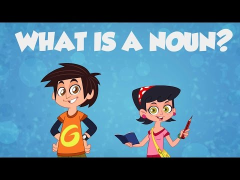 NOUN SONG  LEARN ENGLISH  CHILDRENS SONGS  FunKiddzTV