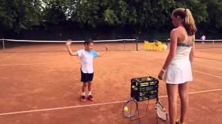 Как мы проводим уроки тенниса в детской группе