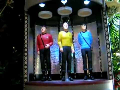 Star Trek Realistic Transporter Room Ornament Youtube