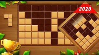 Wood Block Puzzle - Free Classic Block Puzzle Game - Gameplay! screenshot 1