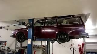 Volvo 245 2JZ underredsfilm..