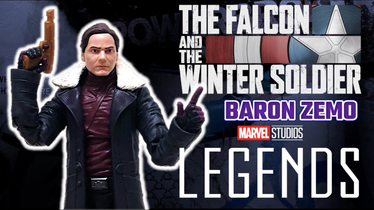 Marvel Legends - BARON ZEMO | Falcon y el Soldado del Invierno - Reseña Figura Hasbro (2021) Disney