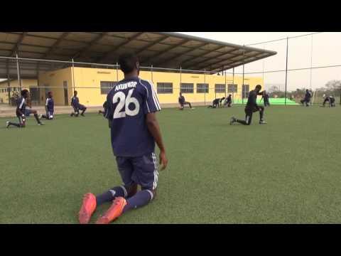 Pre-Season Training for the Beginning of 2016/2017 Ghana Premier League