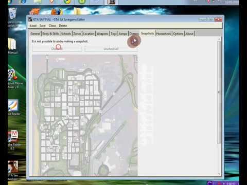 Grand Theft Auto San Andreas saves - WWW.GTASAVEGAMES.COM