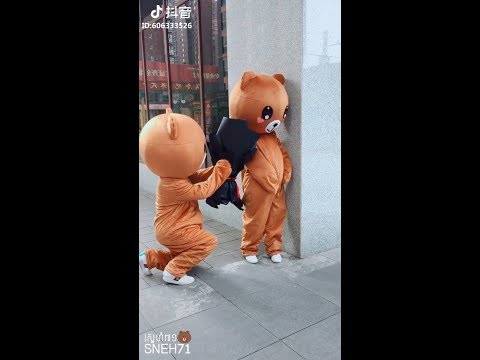 Top Funny Brown Bear and Kumamon in Tik Tok/Douyin