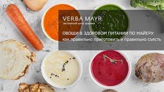 Овощные салаты для правильного питания - 2 рецепта. Овощи в здоровом питании по Майеру.