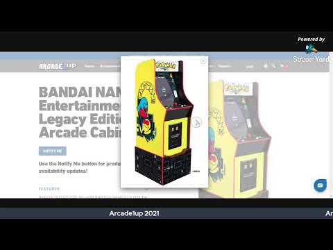 New 2021 Arcade1up Cabinets Live Discussion from Evryday Erik