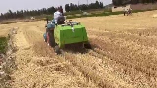 mini hay baler for wheat straw