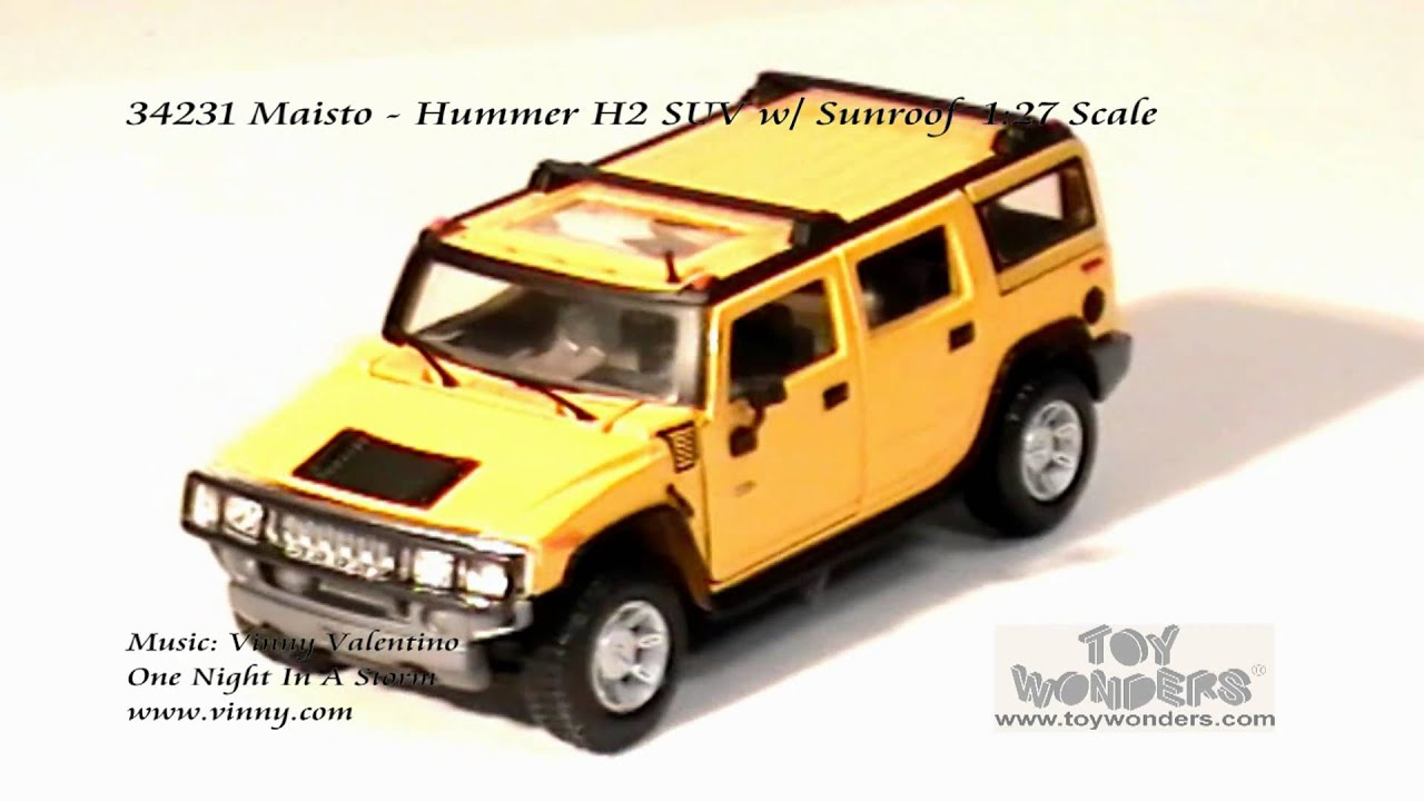 Maisto Hummer H2 SUV Sunroof 127 Scale Diecast Wholesaleg