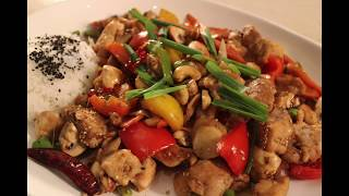 Thai Cashew Sesame Chicken