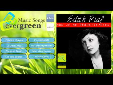 Edith Piaf Non Je ne regrette rien  Original Full Album Rema