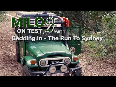 Milo 2 On Test Part 1- Built Not Bought 40 Series - - Roothy Beds In On The Run To Sydney