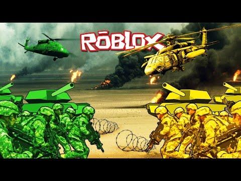 Roblox Movie | GREEN VS YELLOW BASE WARS! (Roblox Adventures)
