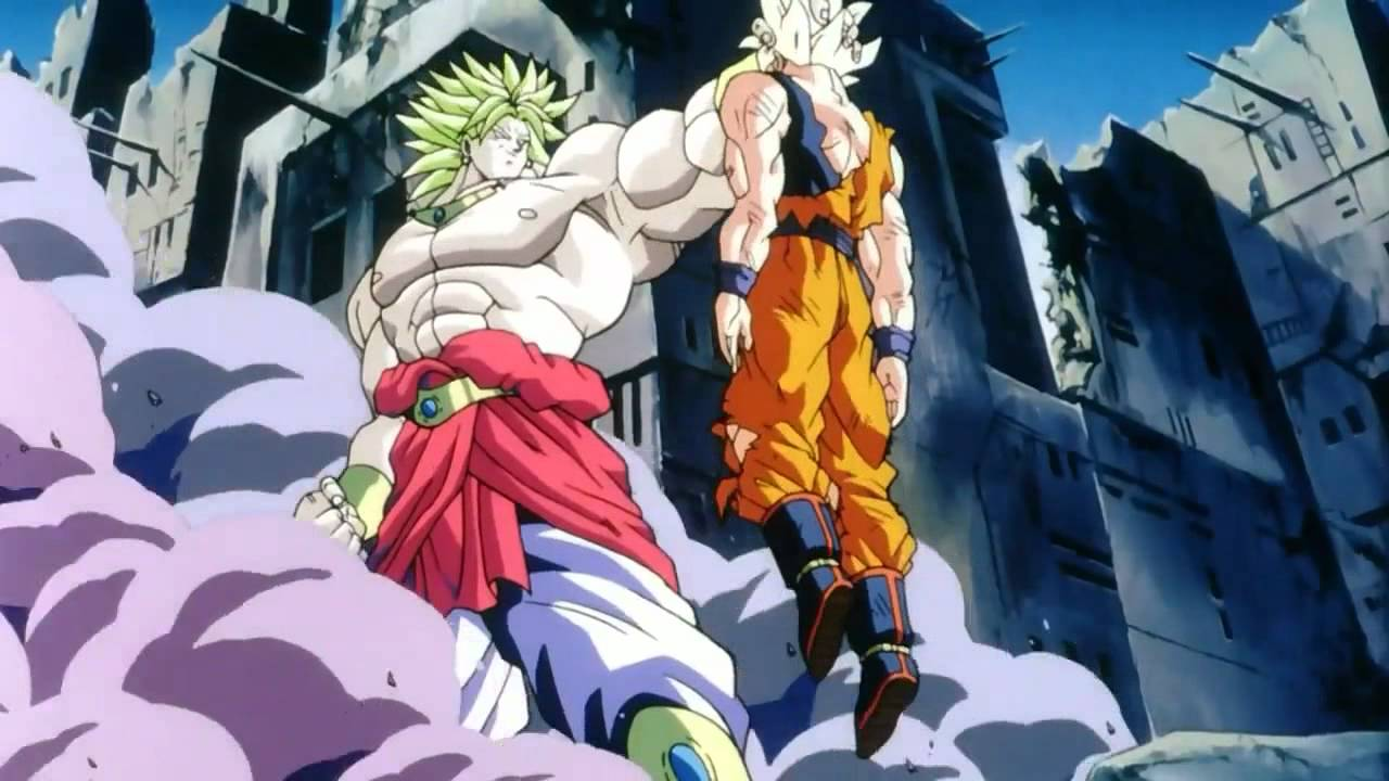 Goku vs broly fan animation - 1 7