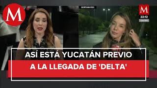 Cancún se encuentra completamente desalojado ante la llegada del huracán Delta